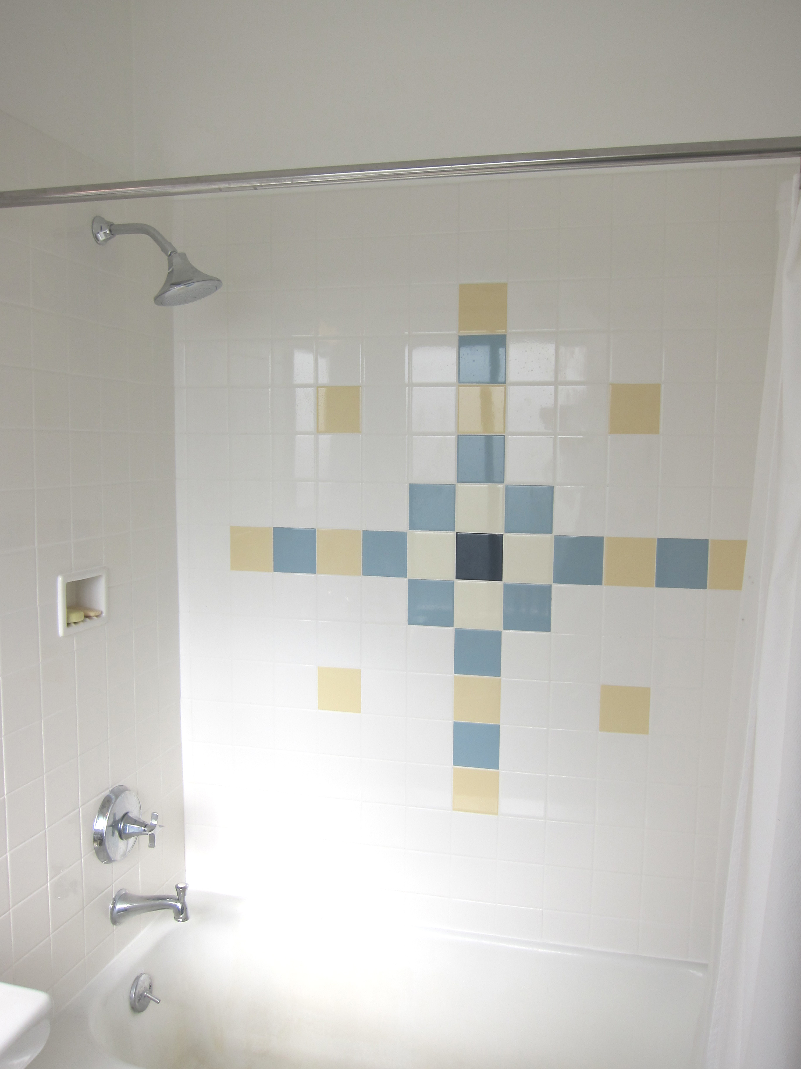 Shiny new tile tub surround deedsdesign daltile dailygadgetfo Image collections