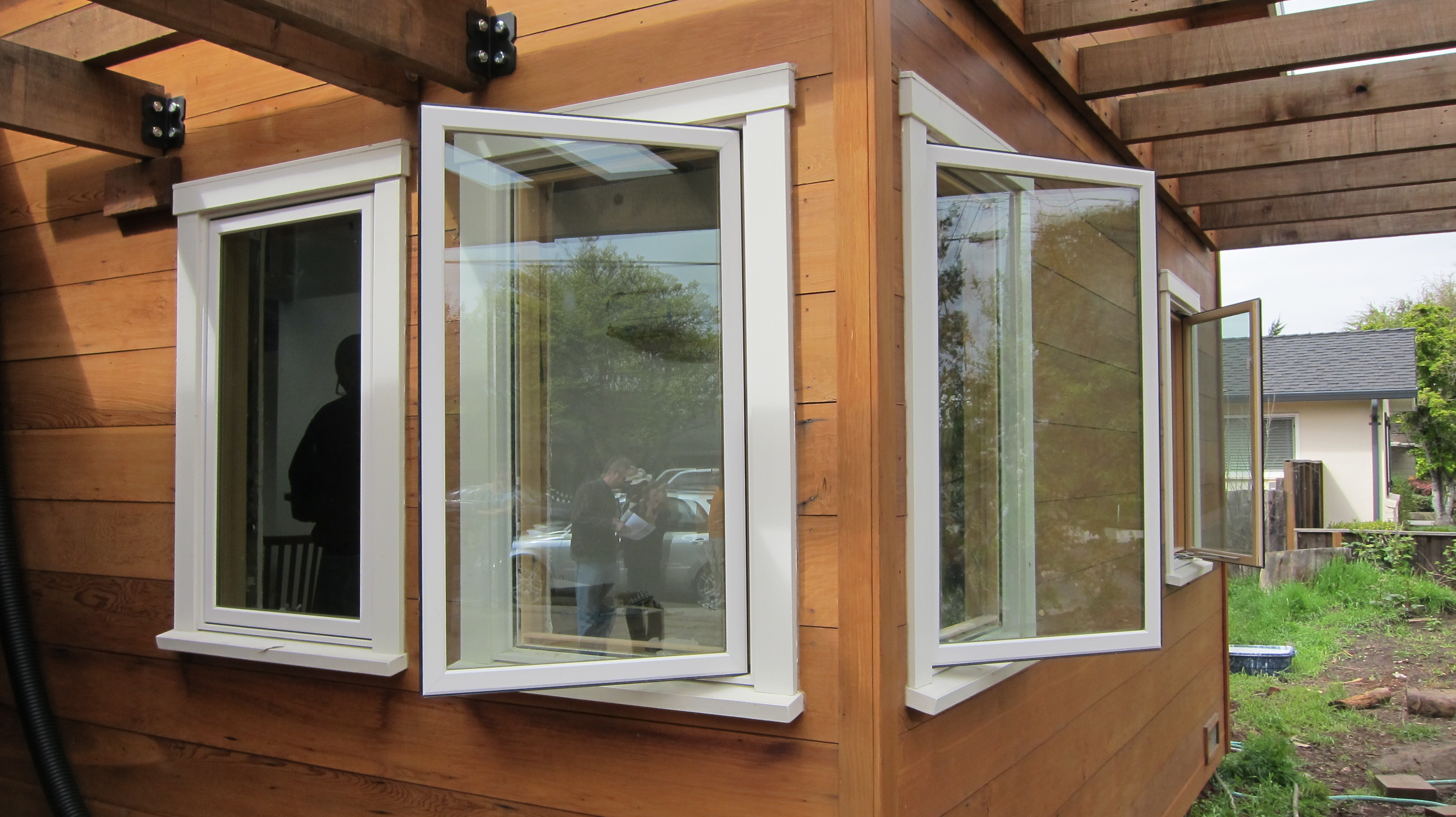 Redwood deedsdesign for Marvin integrity casement windows