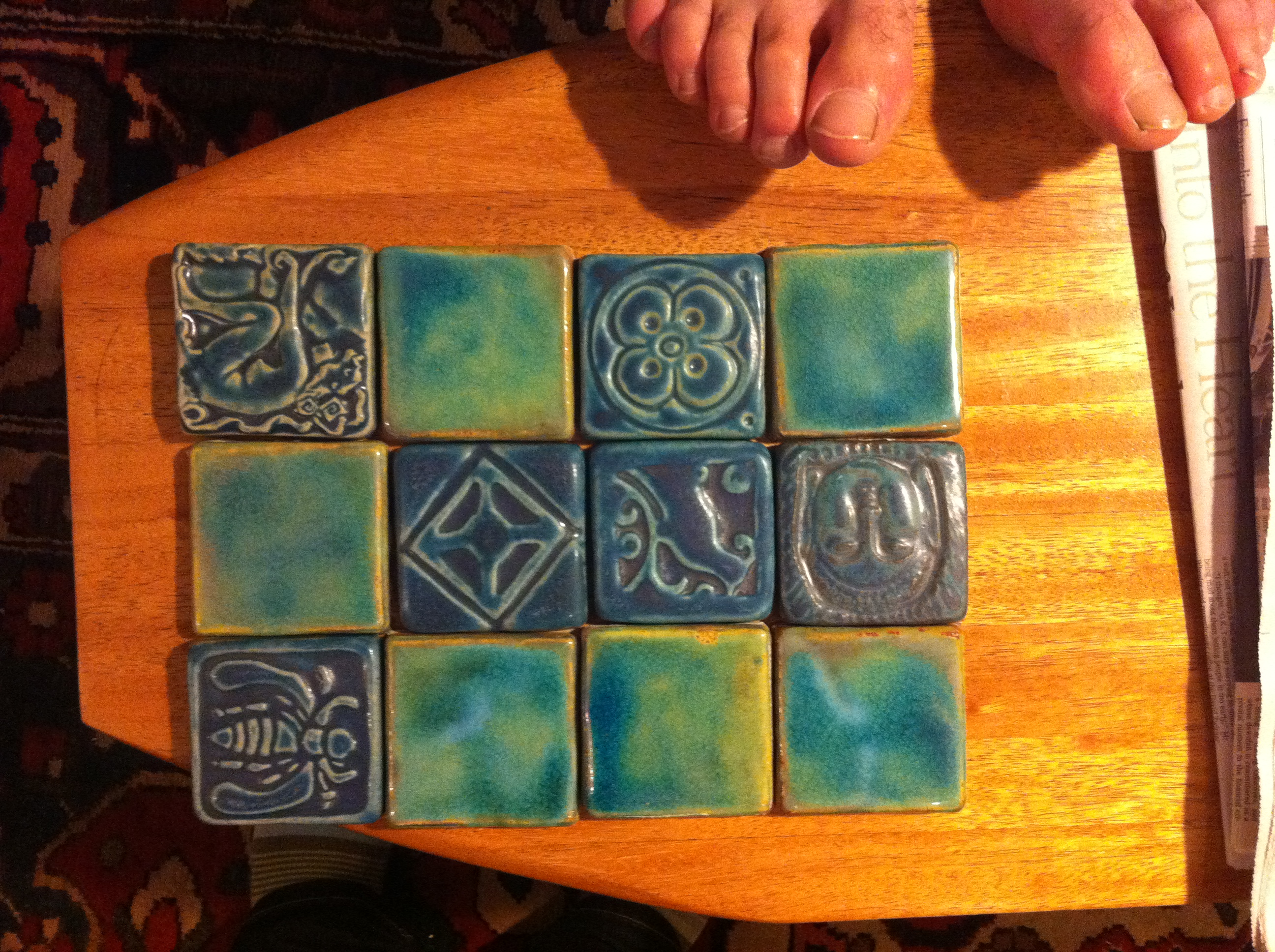 Pewabic tiles floor and decorations gallery floor and decorations pewabic tiles from detroit deedsdesign we shiifo dailygadgetfo Choice Image