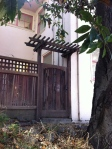 Simple Arbor on Walnut Street