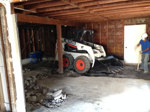 Digging out the Basement