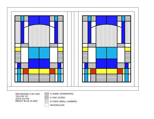 Pair of windows for the bedroom