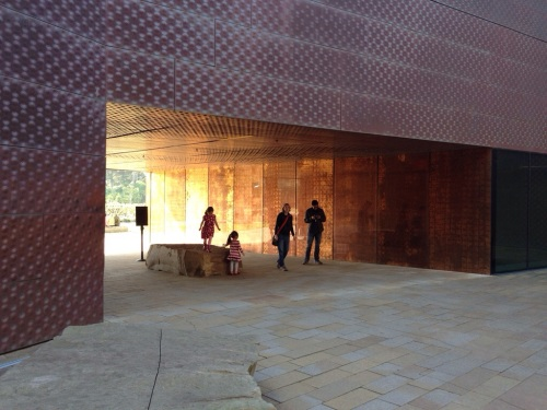 de Young Museum SF Main Entry in Morning Light