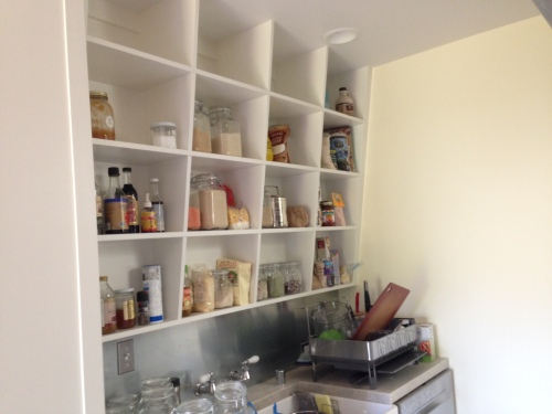 Angled Pantry Shelves 2