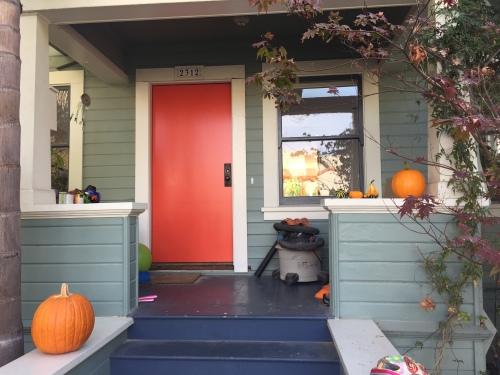 New front door in time for halloween