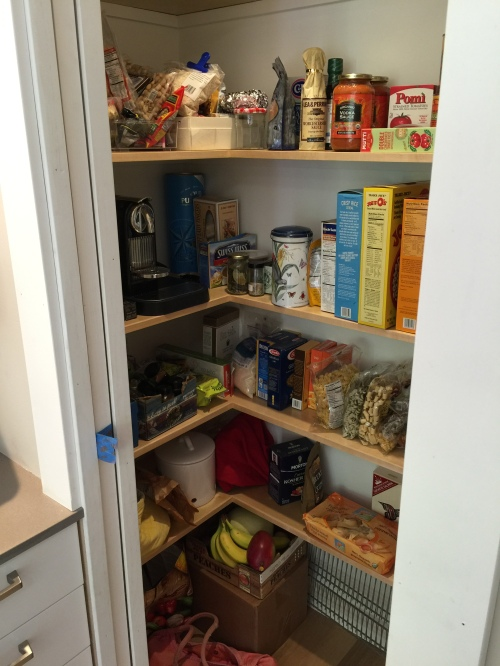 Efficient Pantry for all the Food