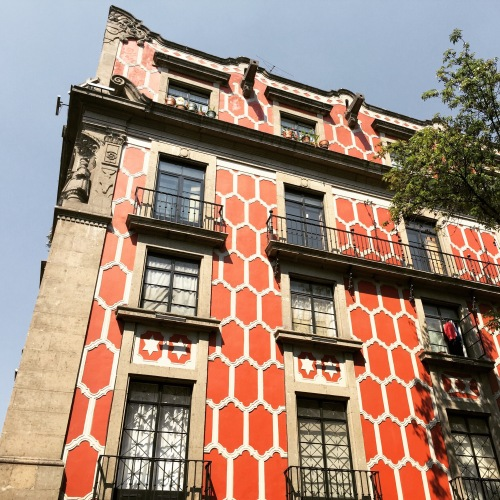 Bold Facade in Centro Historico