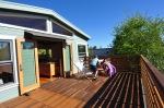 kids enjoying the roofdeck