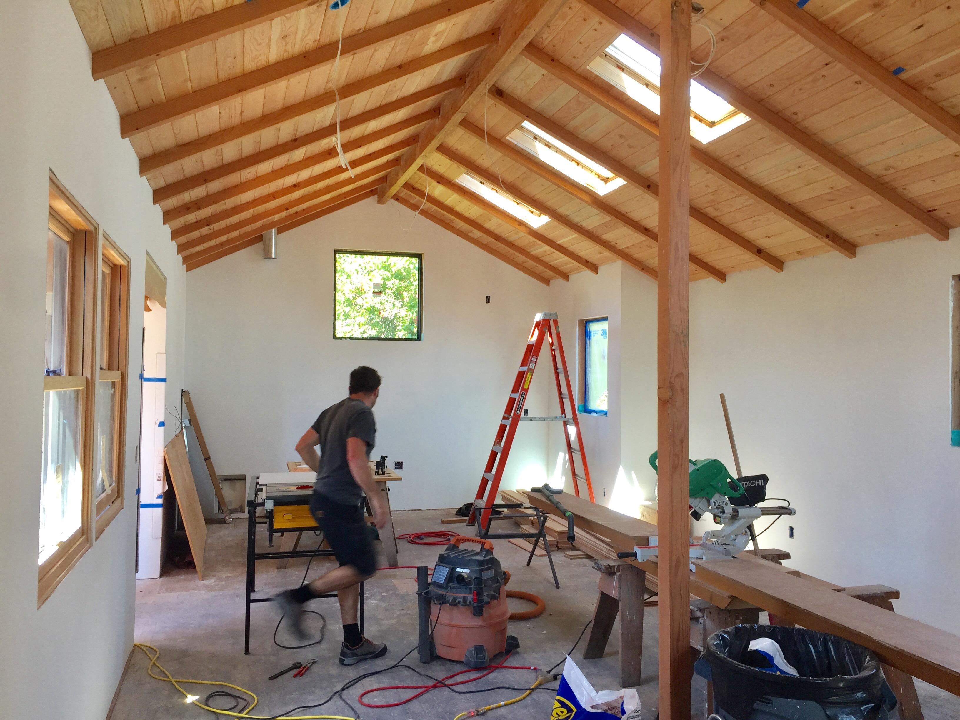 McBride and Cedar Ceiling